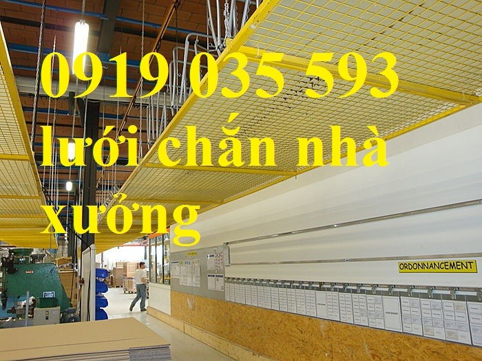 Lưới an toàn, lưới chống rơi cho công trình trên cao1