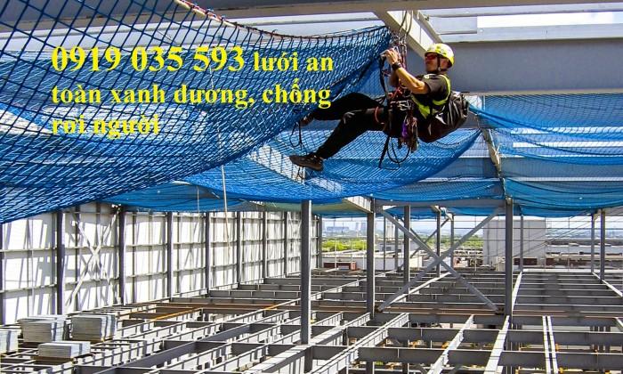 Lưới an toàn, lưới chống rơi cho công trình trên cao2