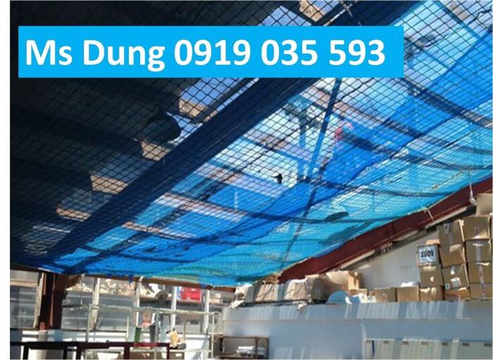 Lưới an toàn, lưới chống rơi cho công trình trên cao4