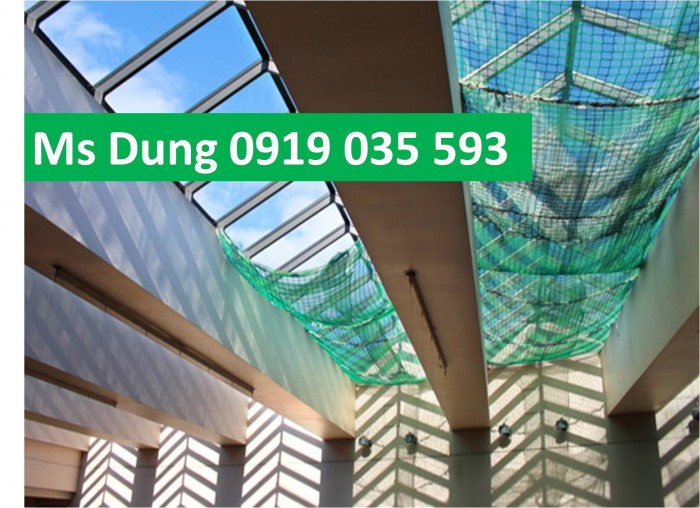 Lưới an toàn, lưới chống rơi cho công trình trên cao5
