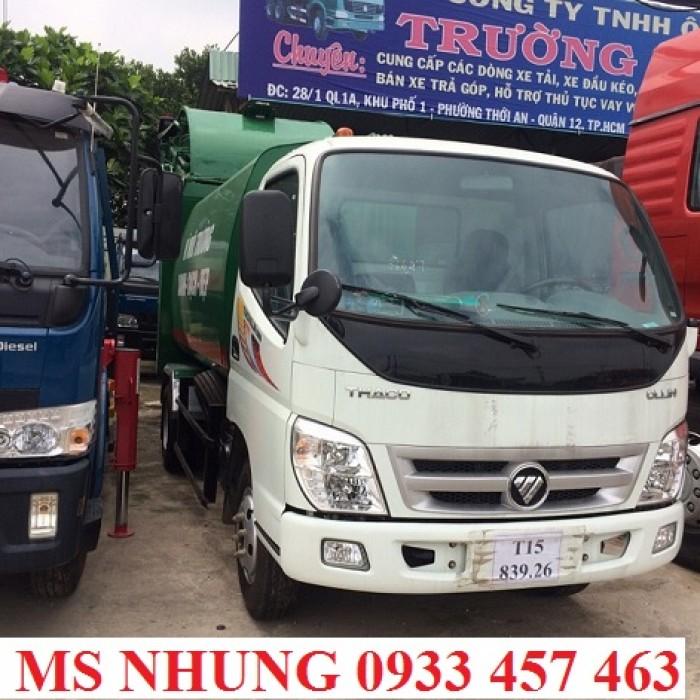 Bán Xe chở rác Thaco ollin500 - 7 khối