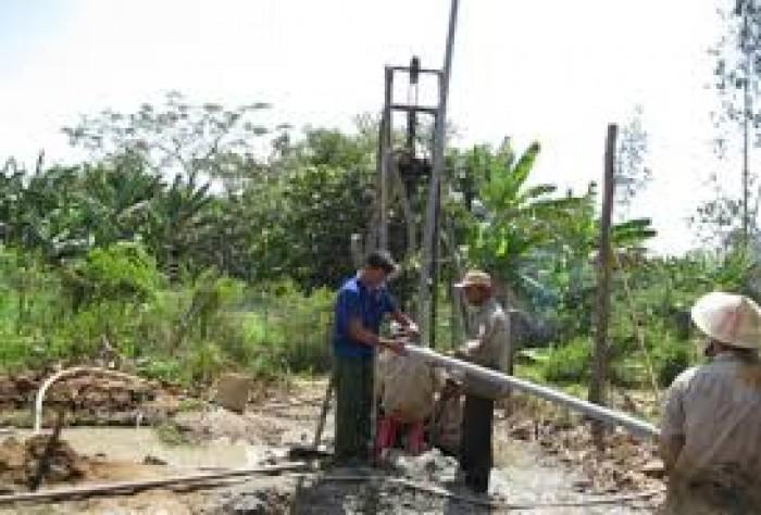 Chuyên nhận khoan giếng khu vực Phú Mỹ, Phú Tân, Bình Dương