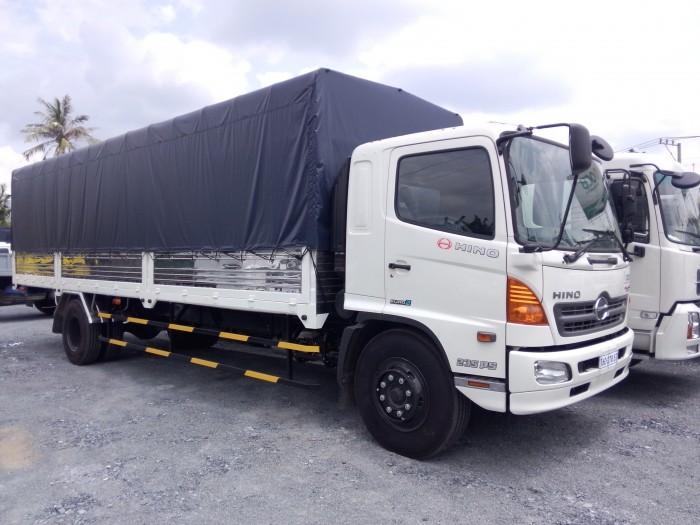 Xe tải Hino FG8JPSU thùng mui bạt 9m7 tải trọng 9.4 tấn 2