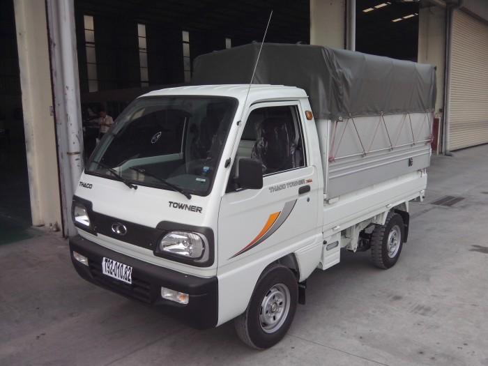 Xe tải Thaco Towner 750kg, giá tốt, bán trả góp với lãi suất hấp dẫn, không cần thế chấp