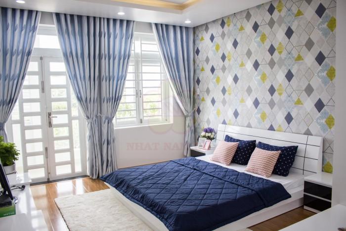 Định cư nước ngoài bán nhà 3 lầu hướng ĐN, HXH 6m full nội thất như hình