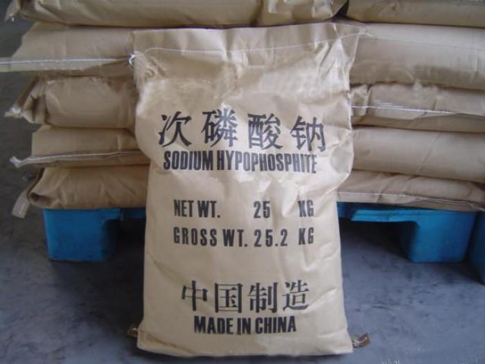 SODIUM HYPOPHOSPHITE, chất chống oxy hóa, chất Thu hồi kim loại màu, chất Bảo quản thịt