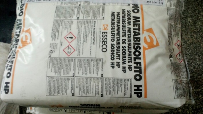 SODIUM METABISULPHITE, chất phân tách Aldehyde và Ketone, chất tẩy trắng trong nghành giấy, chất xử lý nước