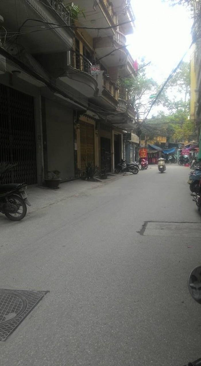 Bán nhà phố Vĩnh Phúc, Ba Đình, HN, mặt tiền, SĐCC, DT46m2, MT4m, giá 7.6 tỷ