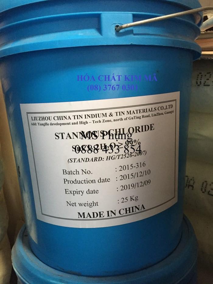 STANNOUS CHLORIDE, mẫn cảm trong nguyên liệu hỗn hợp Thiếc hữu cơ