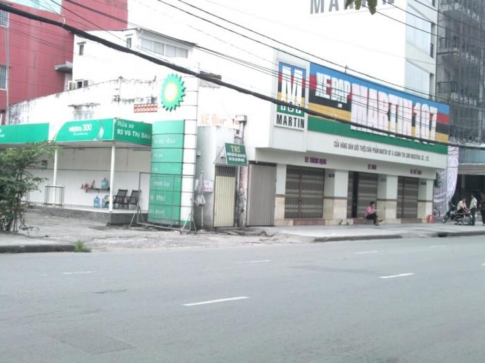 Kẹt tiền bán gấp nhà mặt tiền kinh  doanh Võ Thị Sáu , Ngã tư Võ Thị Sáu với Phạm Ngọc Thạch, Quận 3.