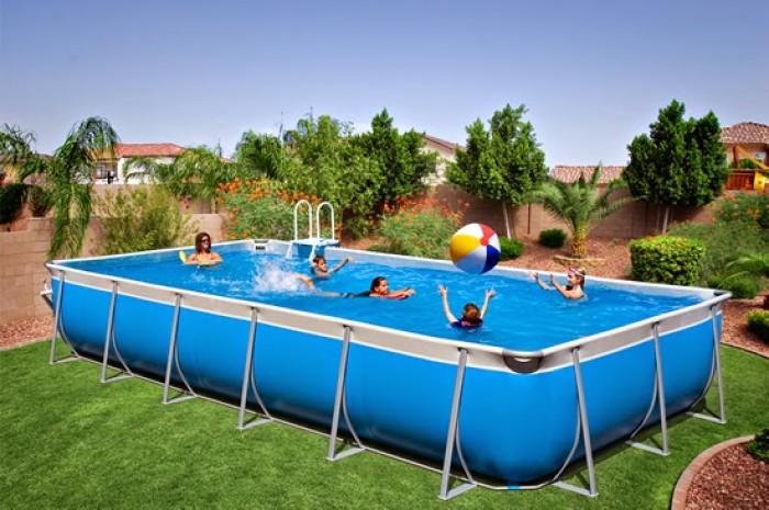 Bể bơi lắp ghép, Bể bơi thông minh, Bể bơi khung kim loại, Bể bơi bơm hơi