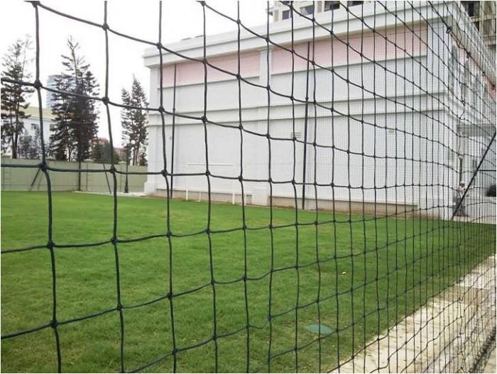 Lưới an toàn sân banh, lưới bóng đá, lưới khung thành gôn chuyên dụng, lưới xây dựng thể thao5