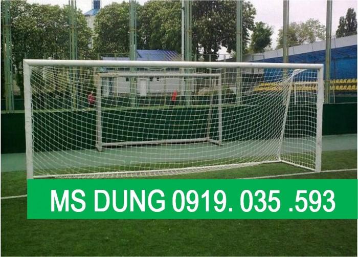 Lưới an toàn sân banh, lưới bóng đá, lưới khung thành gôn chuyên dụng, lưới xây dựng thể thao7