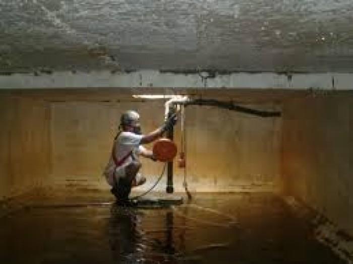 Dịch vụ Thau rửa, vệ sinh bể nước ngầm chuyên nghiệp, giá rẻ, đảm bảo vệ sinh