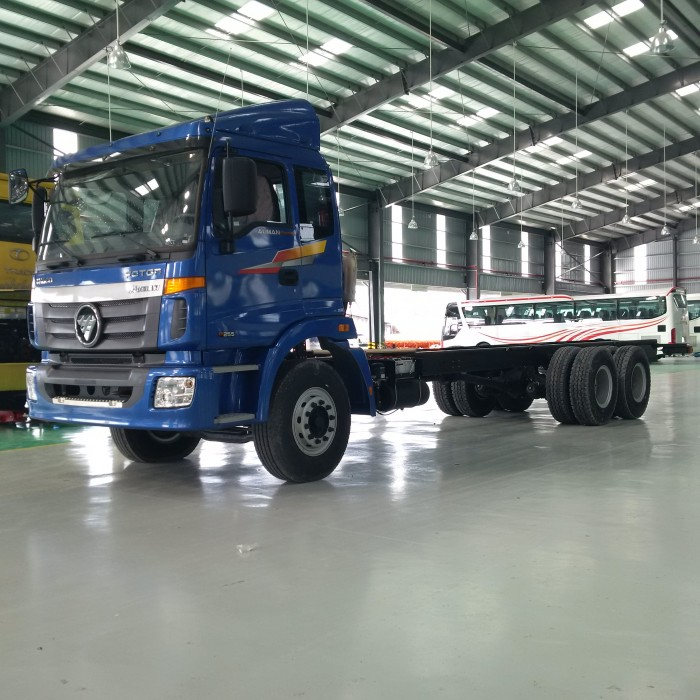 Xe tải Thaco Auman C1400B 6x2R dùng Balance