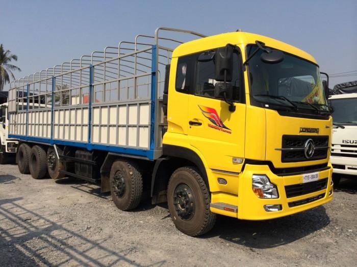Bán xe tải DongFeng L315 (6x4) mới, màu vàng, có thùng