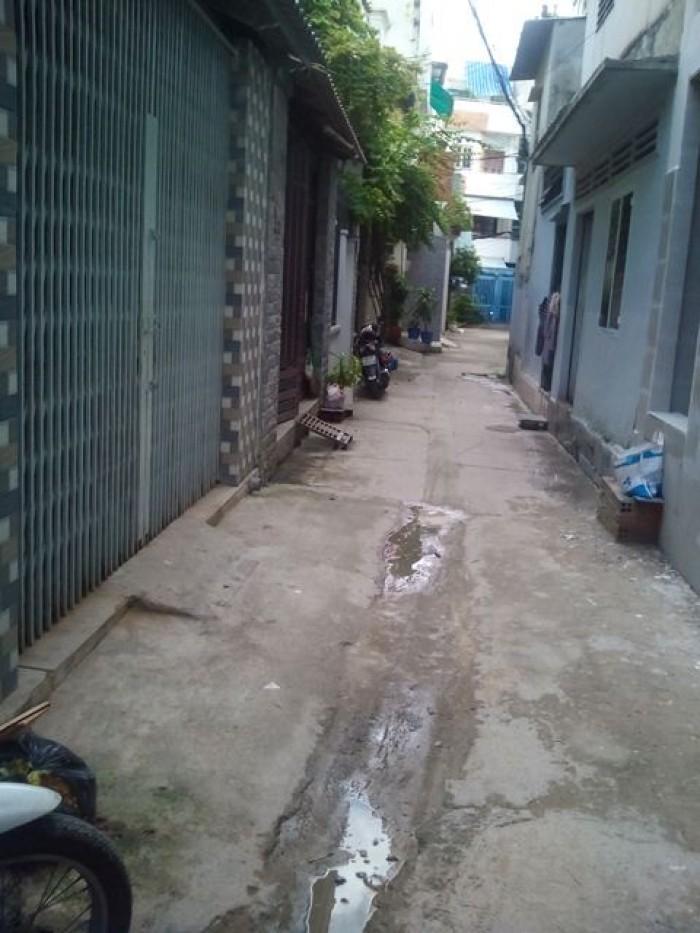 Bán nhà hẻm Hiệp Nhất, P4, quận Tân Bình