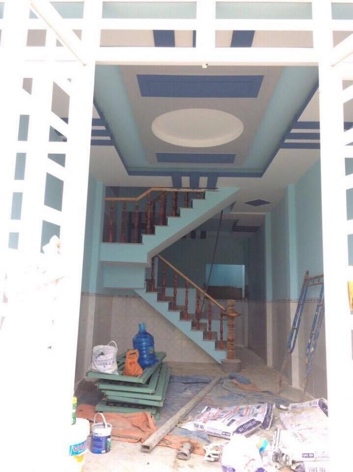 Bán nhà phố mới xây đẹp ngay đường Vĩnh Lộc, Bình Chánh giá 720 triệu