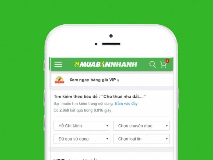 Cần cho thuê nhà ngay MT đường Nguyễn Trãi