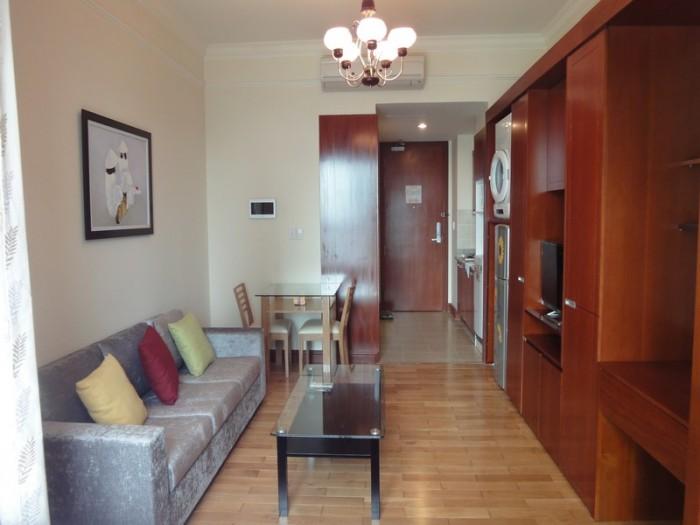 Căn hộ studio the manor cho thuê đầy đủ nội thất