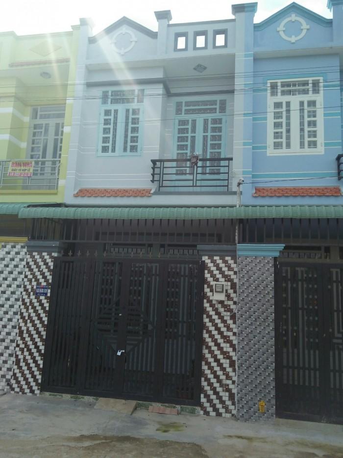 Nhà mới xây đường Vĩnh Lộc 1 sẹc gần chợ 112m2