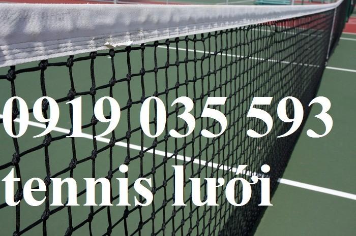 Lưới tennis chắn sân tennis tập luyện, dụng cụ tennis, lưới tennis, móc nhựa