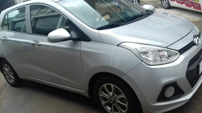Hyundai i10 2014 màu bạc giá cực HOT 0