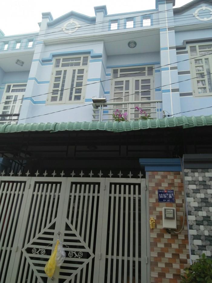 Nhà 4x14m A1/7 ấp 5,xã Vĩnh Lộc B,Bình Chánh