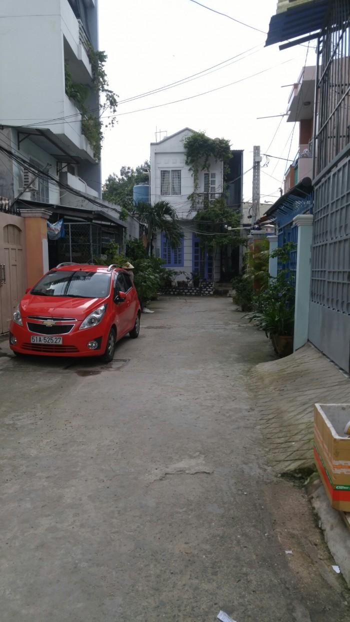 Bán nhà hẻm 5,1x29,5 Dương Quảng Hàm P5 Gò Vấp.