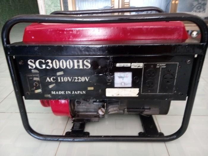Máy phát điện mini (máy Nhật bãi)14