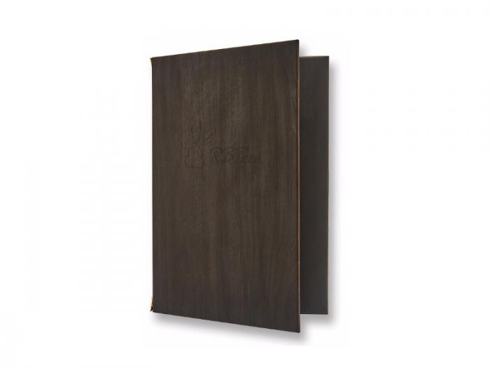 Phượng Hoàng Art nhận gia công menu bìa gỗ cho khách sạn
