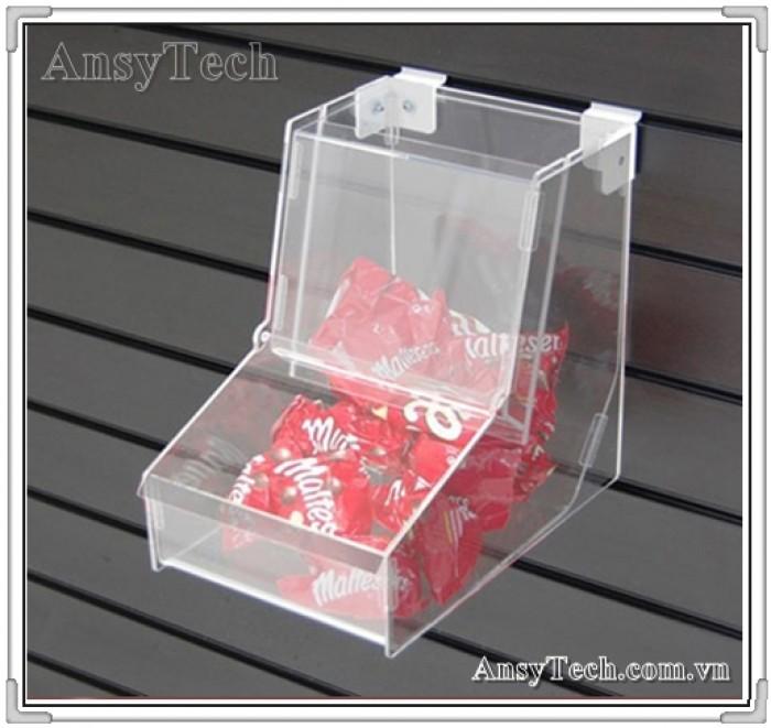 Hộp đựng kẹo, hộp nhựa acrylic, hộp đựng kẹo bằng mica0