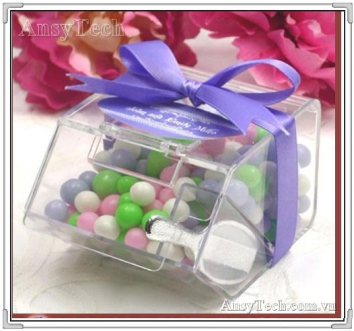 Hộp đựng kẹo, hộp nhựa acrylic, hộp đựng kẹo bằng mica1