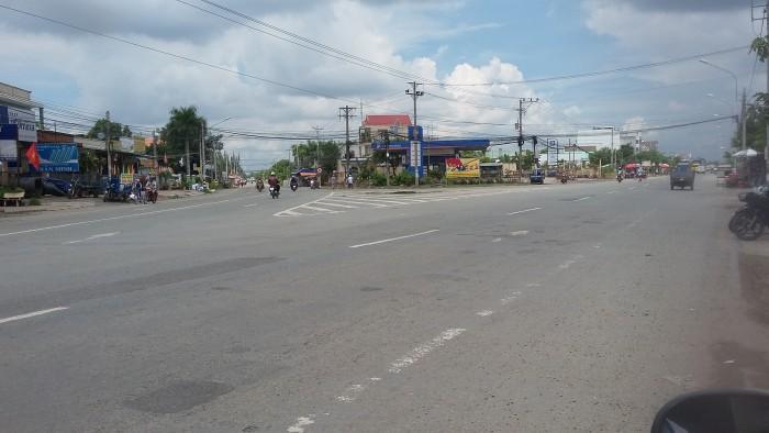 Đất thổ cư mặt tiền Quốc lộ 50 .huyện Bình Chánh,chỉ 7tr/m2 .