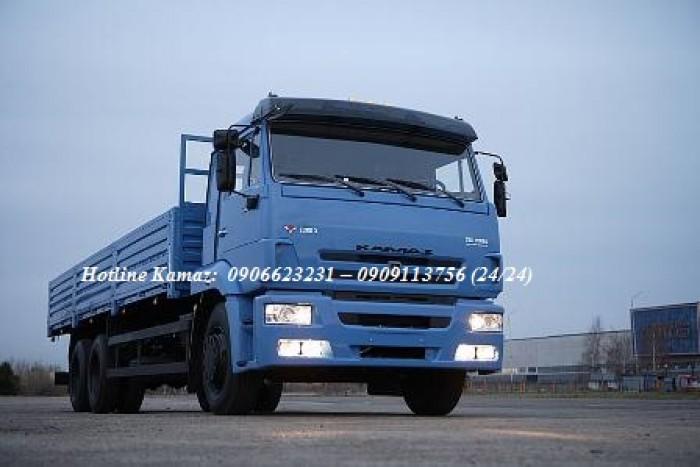 Kamaz 65117 (6x4) nhập khẩu Nga | Bán trả góp xe tải Kamaz 14 tấn thùng 7m8 mới nhất