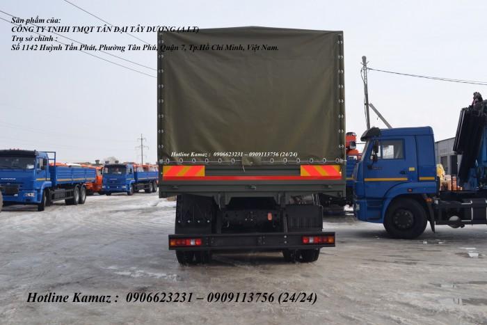 Tải thùng Kamaz 6m3, Bán xe tải thùng Kamaz 53229 mới nhập khẩu 2016 7