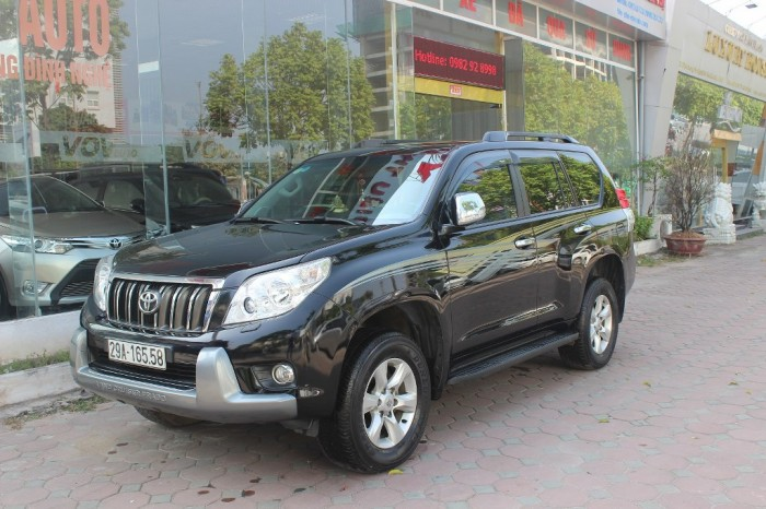 Toyota Prado 2011 màu đen