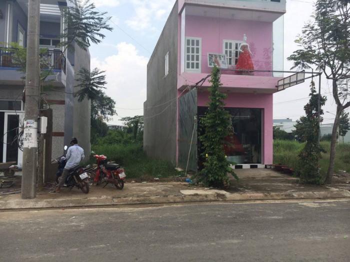 Nền gốc 2 Mt 4m x 20m2 Đường Huỳnh VĂn TRí Huyện Bình Chánh ,SHR