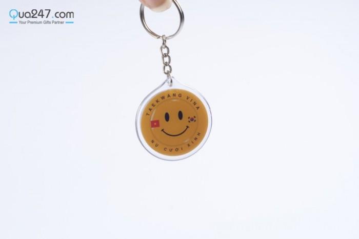 Móc khóa đổ keo in logo công ty đổ khuôn theo yêu cầu sll giá rẻ nhất thị trường