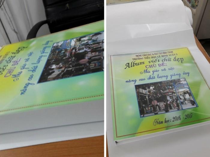 Album viết chữ đẹp Chủ đề: Nhà giáo với việc nâng cao chất lương giảng dạy | Thực hiện bởi Phượng Hoàng Art