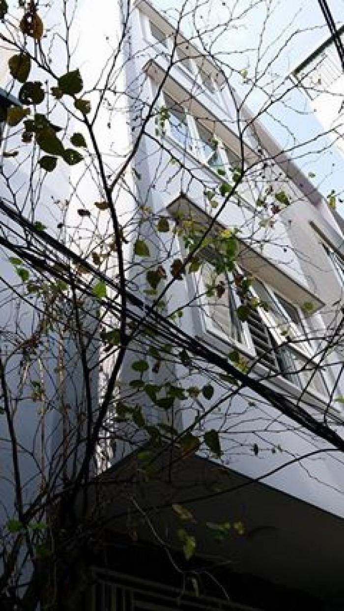 Bán Nhà Trương Định 50m2, 4 tầng, cách MP 50m, Giá 3.69 tỷ.