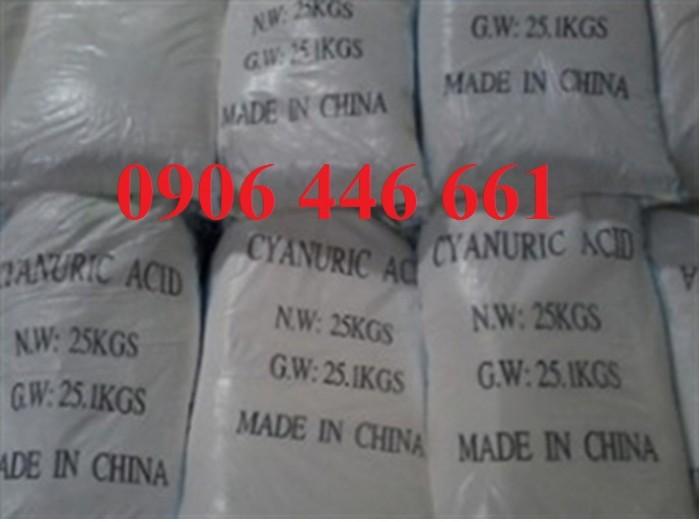 Bán Acid Cyanuric, Cyanuric acid, isocyanuric acid giá tốt, giá rẻ