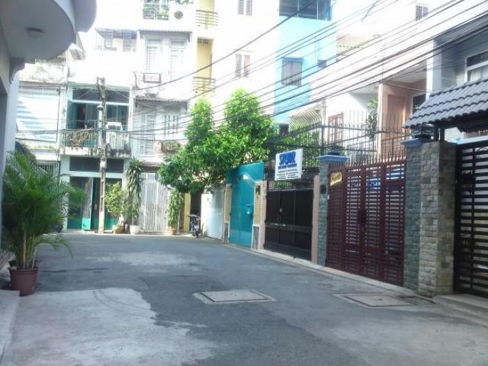 Bán nhà góc 2 mặt tiền, hẻm xe hơi 8m đường Lê Văn Sỹ, 12x20, giá 16 tỷ 5