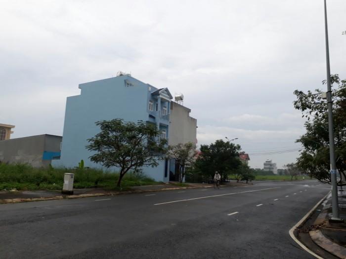 Đất Mặt tiền Huỳnh Văn Trí,dt 100m2,đường nhựa 15m,sổ hồng riêng,XDTD