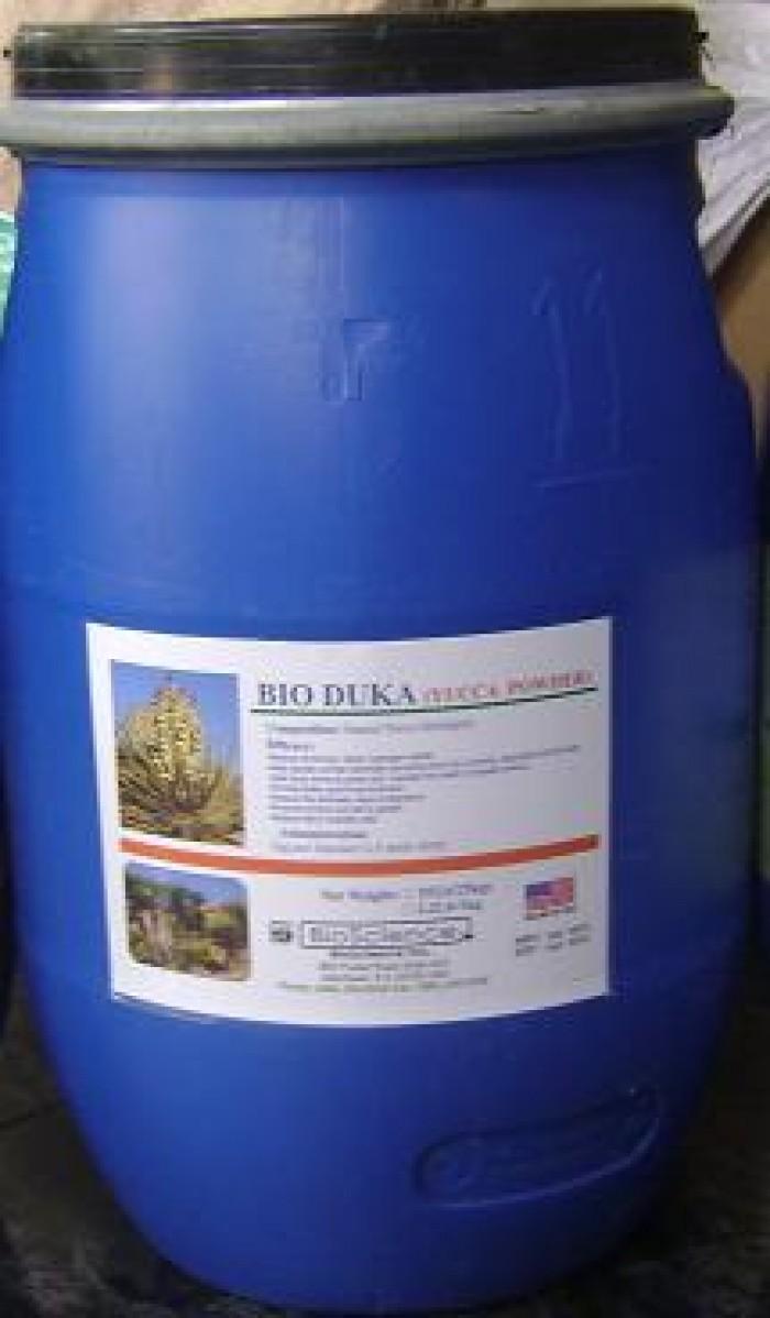 YUCCA là chất chiết xuất hoàn toàn 100% từ cây Yucca Schidigera,  Hấp thu cực nhanh các khí như NH3