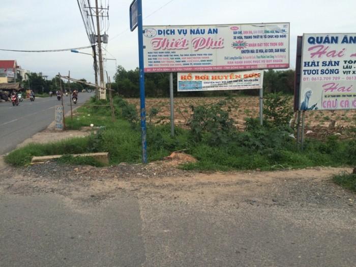 Cần bán gấp đất ở trung tâm xã Vĩnh Thanh - Nhơn Trạch - Đồng Nai (khu dân cư đông đúc) chỉ 90 triệu/m ngang
