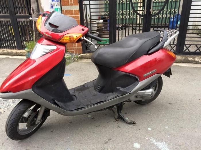 Honda Spacy nhật màu đỏ, nguyên thuỷ,máy êm