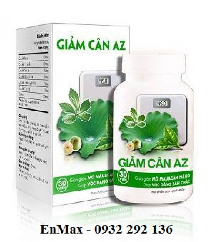 Giảm cân AZ giúp giảm cân nhanh, an toàn0