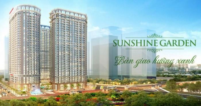Sunshine Garden sở hữu căn hộ chỉ từ 1,35 tỷ, 26,2tr/m2, nhận nhà chỉ với 430tr, ck 8%