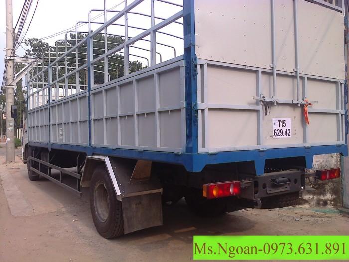 Bán xe tải B170 (4x2) tải trọng  9,6 tấn, có thùng, xe mới 2016 3